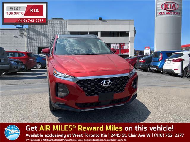 2019 Hyundai Santa Fe Ultimate 2.0 (Stk: T20317) in Toronto - Image 1 of 13