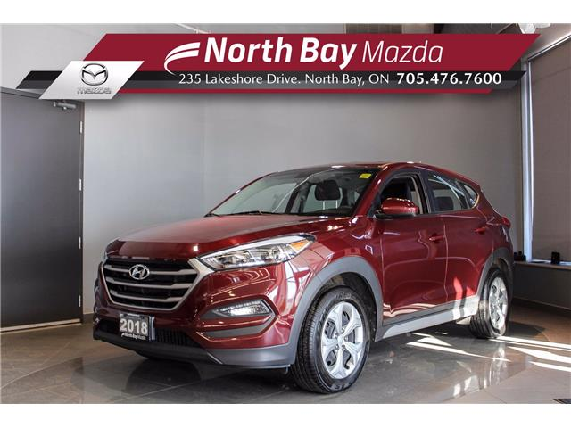 2018 Hyundai Tucson Base 2.0L (Stk: U6770) in North Bay - Image 1 of 19
