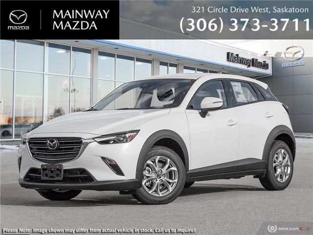 2021 Mazda CX-3 GS (Stk: M21221) in Saskatoon - Image 1 of 23