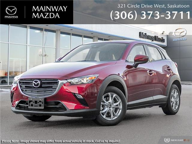 2021 Mazda CX-3 GS AWD (Stk: M21168) in Saskatoon - Image 1 of 23