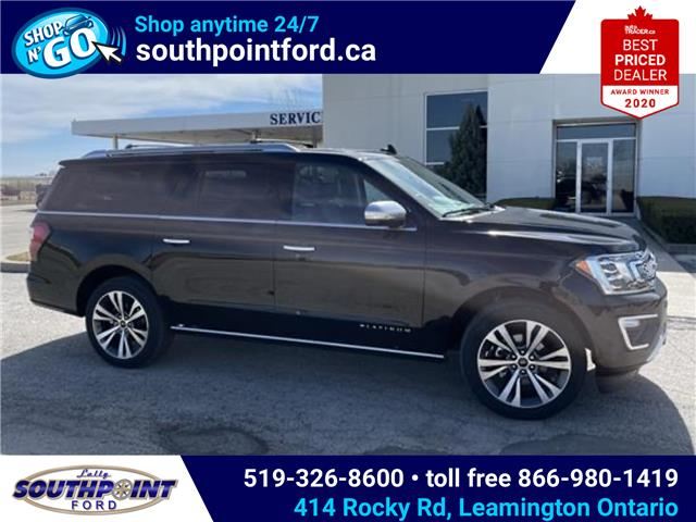 2021 Ford Expedition Max Platinum (Stk: SED6888) in Leamington - Image 1 of 19