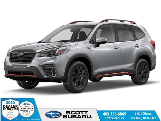 2021 Subaru Forester Sport (Stk: 500144) in Red Deer - Image 1 of 10