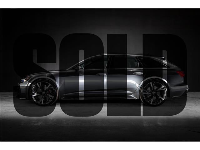 2021 Audi RS 6 Avant 4.0T (Stk: PQ0005) in Woodbridge - Image 1 of 21