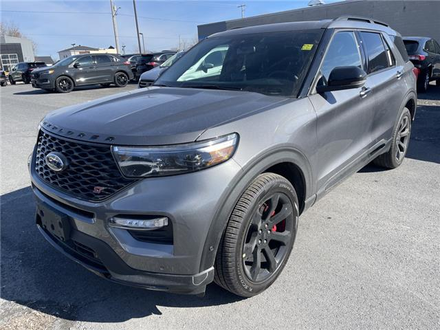 2021 Ford Explorer ST (Stk: 21085) in Cornwall - Image 1 of 14