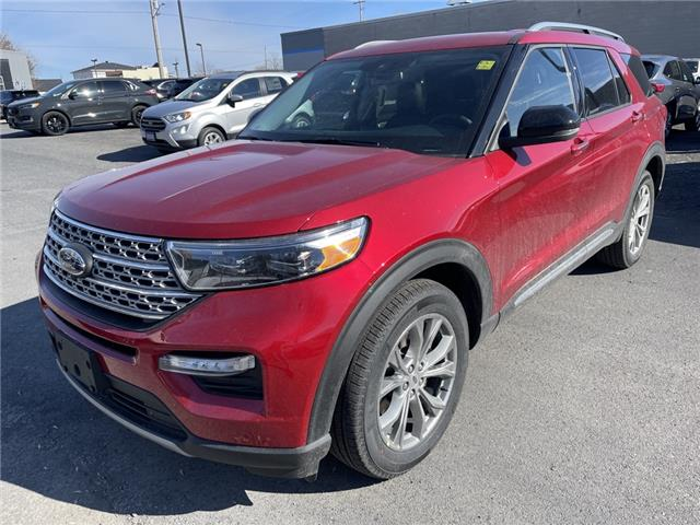 2021 Ford Explorer Limited (Stk: 21083) in Cornwall - Image 1 of 14