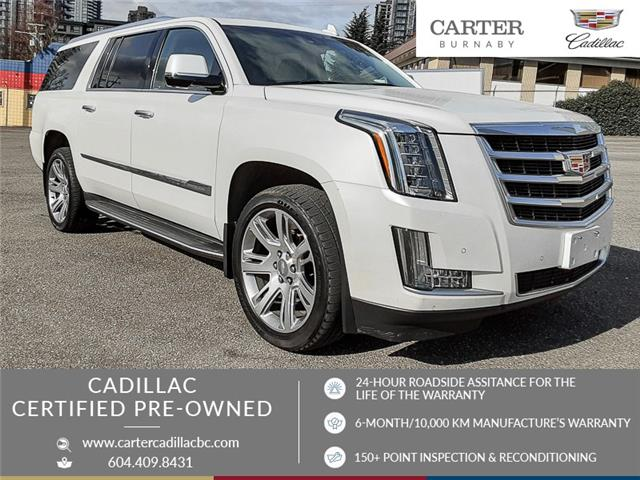 2016 Cadillac Escalade ESV Luxury Collection (Stk: C6-88551) in Burnaby - Image 1 of 27