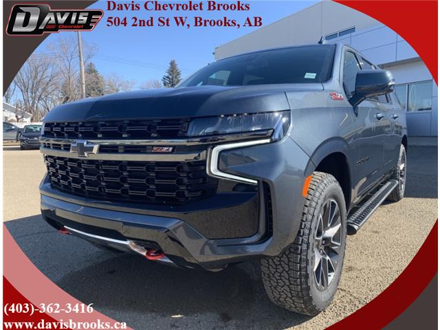 2021 Chevrolet Suburban Z71 (Stk: 224840) in Brooks - Image 1 of 24