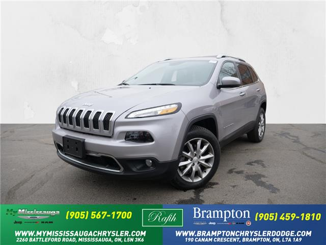 2018 Jeep Cherokee Limited (Stk: 1341) in Mississauga - Image 1 of 24