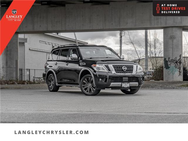 2017 Nissan Armada Platinum (Stk: M526648A) in Surrey - Image 1 of 25