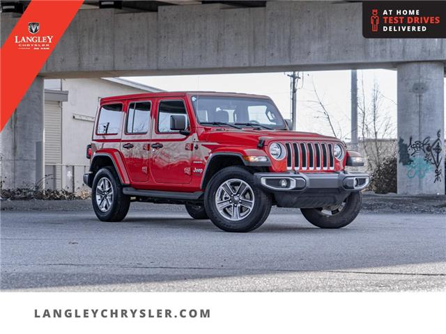 2020 Jeep Wrangler Unlimited Sahara (Stk: LC0703) in Surrey - Image 1 of 22