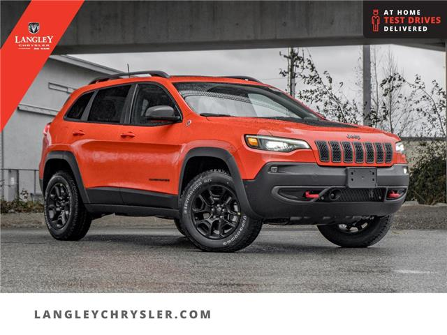 2021 Jeep Cherokee Trailhawk (Stk: M143668) in Surrey - Image 1 of 25