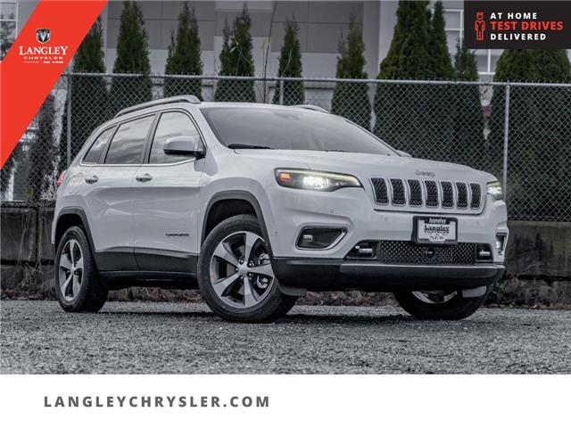 2021 Jeep Cherokee Limited (Stk: M152571) in Surrey - Image 1 of 23
