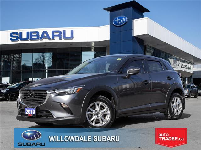 2019 Mazda CX-3 GS Auto AWD >>No Accident<< (Stk: 18448A) in Toronto - Image 1 of 27