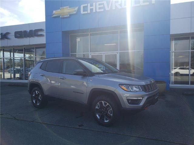 2018 Jeep Compass Trailhawk (Stk: 21T95A) in Port Alberni - Image 1 of 29