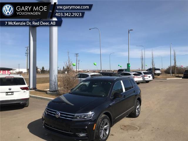 2021 Volkswagen Tiguan Highline 4MOTION (Stk: 1TG8714) in Red Deer County - Image 1 of 7