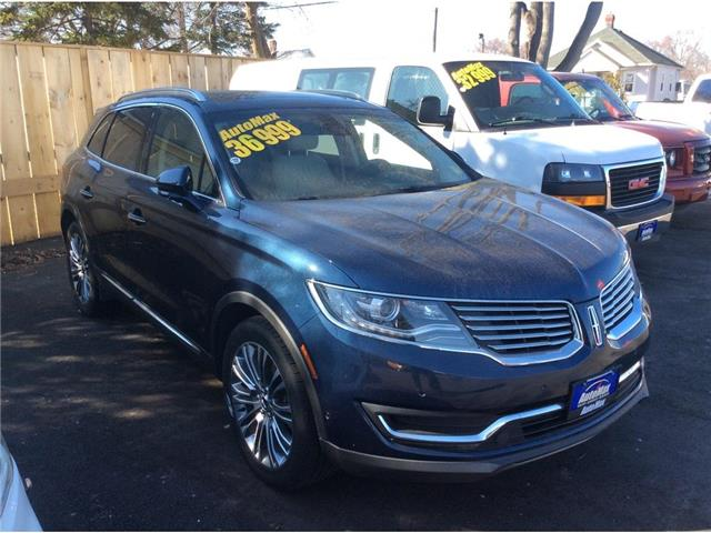 2017 Lincoln MKX Reserve (Stk: A8803) in Sarnia - Image 1 of 30