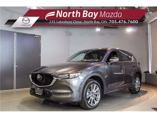 2021 Mazda CX-5 Signature (Stk: 21113) in North Bay - Image 1 of 38