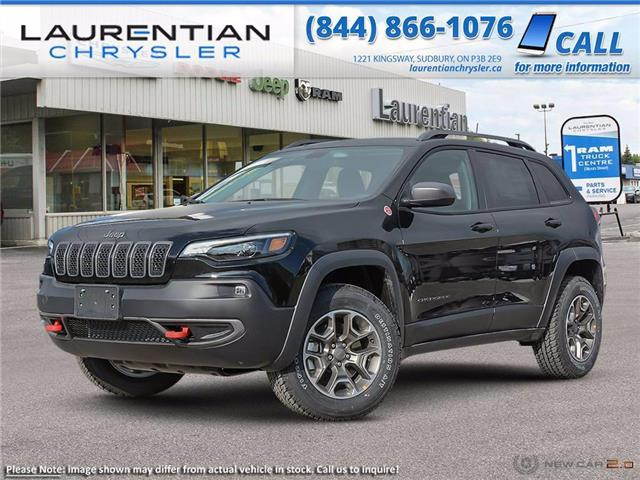 2021 Jeep Cherokee Trailhawk (Stk: 21210) in Sudbury - Image 1 of 20