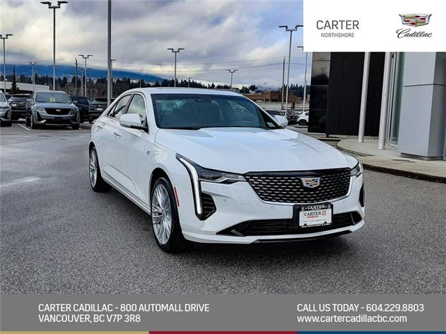 2021 Cadillac CT4 Premium Luxury (Stk: 1D12350) in North Vancouver - Image 1 of 24