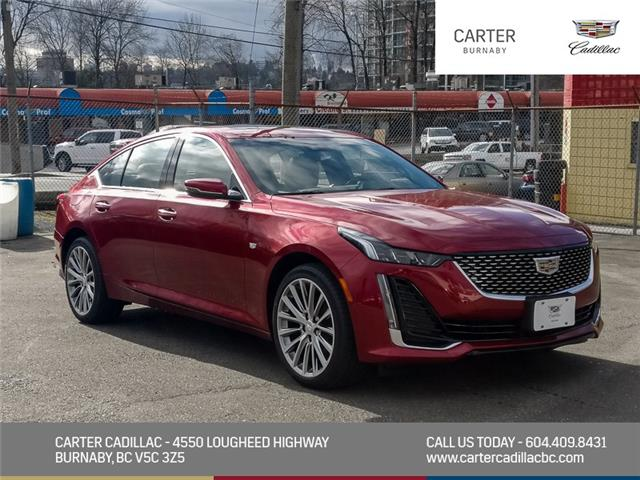 2021 Cadillac CT5 Premium Luxury (Stk: C1-85060) in Burnaby - Image 1 of 24