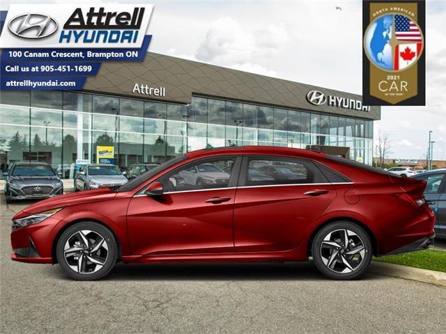 2021 Hyundai Elantra Preferred w/Sun & Tech Package IVT (Stk: 37105) in Brampton - Image 1 of 1