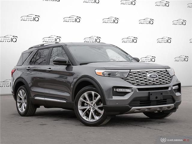 2021 Ford Explorer Platinum (Stk: W0208) in Barrie - Image 1 of 27