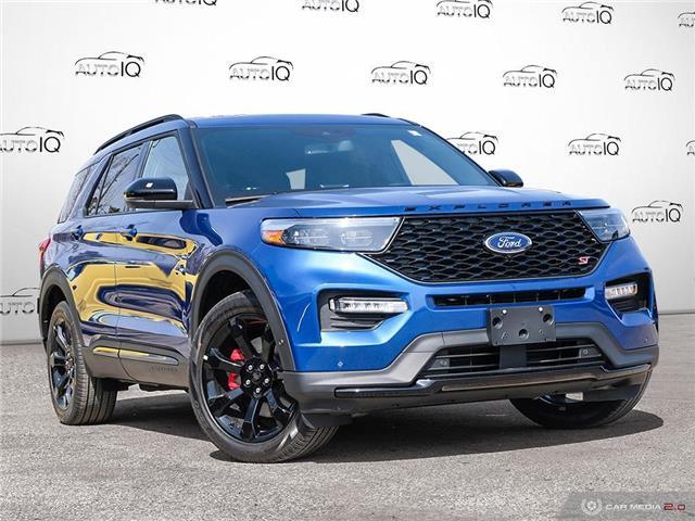 2021 Ford Explorer ST Blue