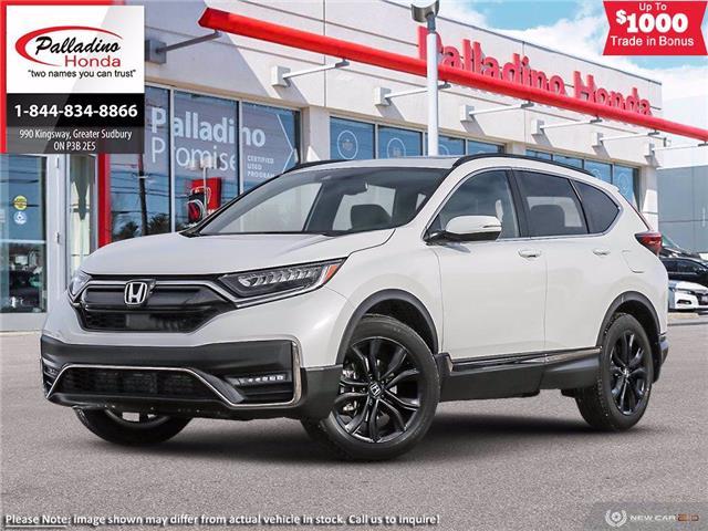 2021 Honda CR-V Black Edition (Stk: 23057) in Greater Sudbury - Image 1 of 23
