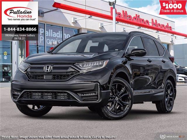 2021 Honda CR-V Black Edition (Stk: 23085) in Greater Sudbury - Image 1 of 23