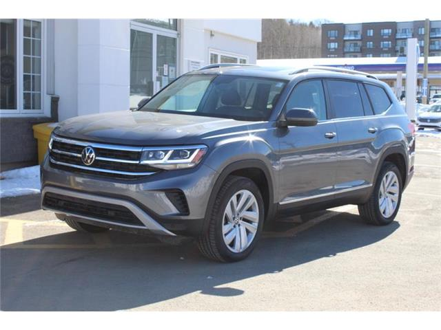 2021 Volkswagen Atlas 3.6 FSI Highline (Stk: 21-80) in Fredericton - Image 1 of 24