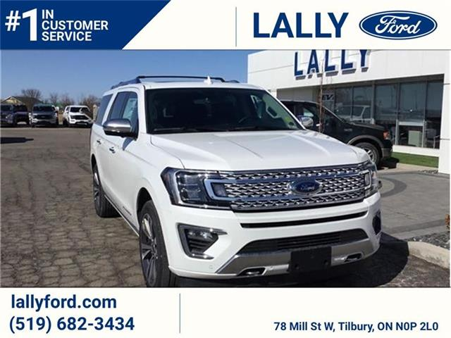 2021 Ford Expedition Max Platinum (Stk: ED27303) in Tilbury - Image 1 of 8