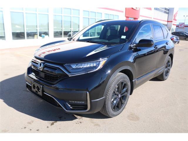 2021 Honda CR-V Black Edition (Stk: 21039) in Fort St. John - Image 1 of 25