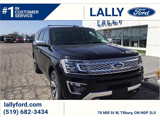 2021 Ford Expedition Max Platinum (Stk: ED27414) in Tilbury - Image 1 of 8