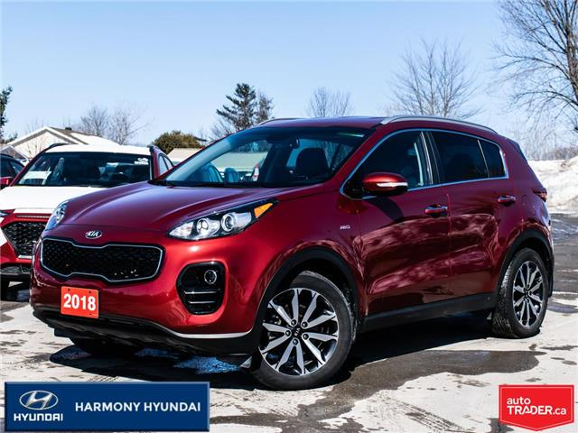 2018 Kia Sportage EX (Stk: 21135A) in Rockland - Image 1 of 30