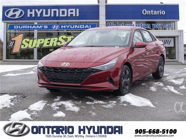 2021 Hyundai Elantra Preferred w/Sun & Tech Pkg (Stk: 143803) in Whitby - Image 1 of 20