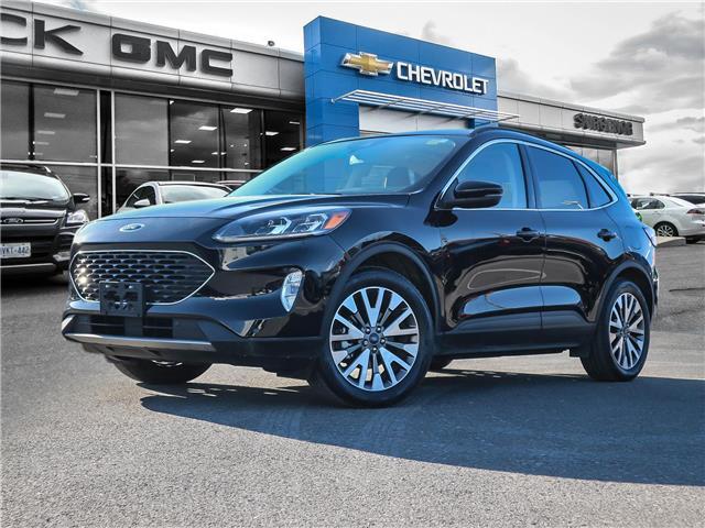 2020 Ford Escape Titanium Hybrid (Stk: R10191A) in Ottawa - Image 1 of 28