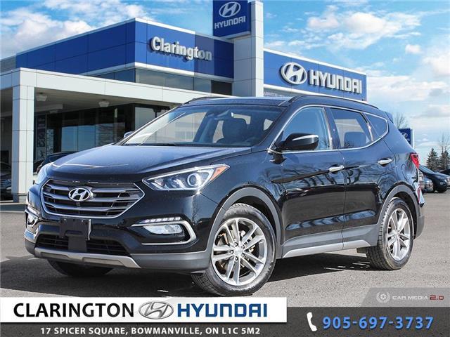 2017 Hyundai Santa Fe Sport 2.0T Ultimate (Stk: U1155) in Clarington - Image 1 of 27