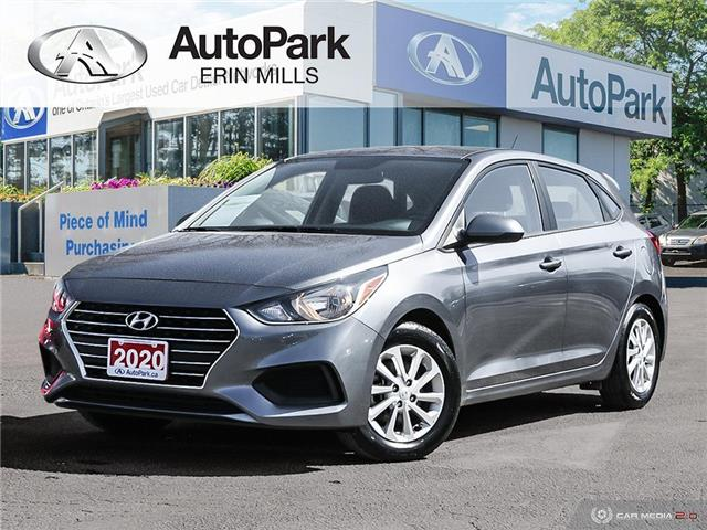 2020 Hyundai Accent Preferred (Stk: 106166AP) in Mississauga - Image 1 of 27