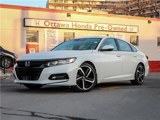 2018 Honda Accord Sport (Stk: H84910) in Ottawa - Image 1 of 29