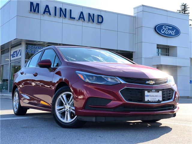 2017 Chevrolet Cruze LT Auto (Stk: P7106A) in Vancouver - Image 1 of 30