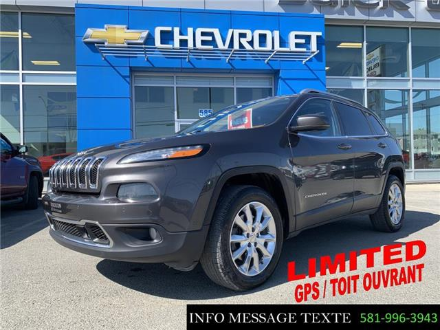 2015 Jeep Cherokee Limited (Stk: 21203A) in Ste-Marie - Image 1 of 29