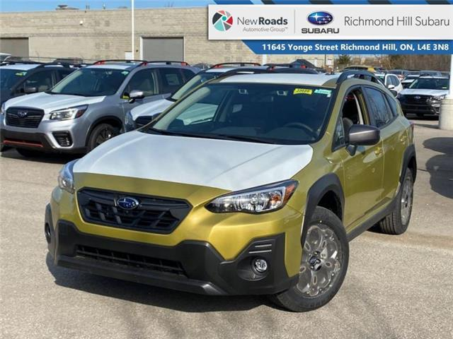 2021 Subaru Crosstrek Outdoor w/Eyesight (Stk: 35702) in RICHMOND HILL - Image 1 of 22