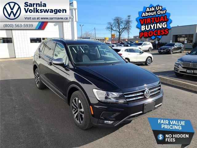 2021 Volkswagen Tiguan United (Stk: V2178) in Sarnia - Image 1 of 22