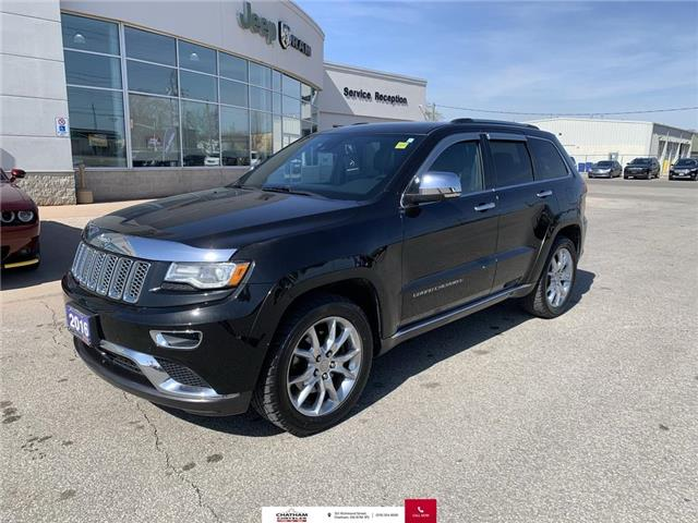 2016 Jeep Grand Cherokee Summit (Stk: U04751) in Chatham - Image 1 of 30