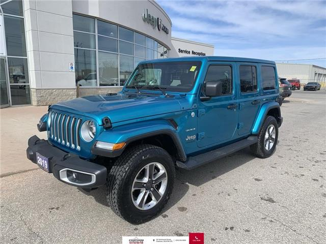 2019 Jeep Wrangler Unlimited  (Stk: N04738BA) in Chatham - Image 1 of 28