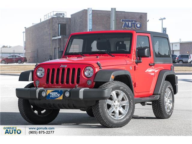 2015 Jeep Wrangler Sport (Stk: 734199) in Milton - Image 1 of 18