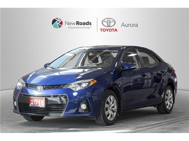 2016 Toyota Corolla  (Stk: 67881) in Aurora - Image 1 of 18