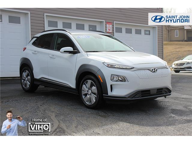 2021 Hyundai Kona EV Preferred (Stk: U3096) in Saint John - Image 1 of 22
