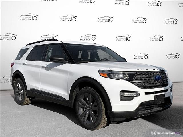 2021 Ford Explorer XLT White