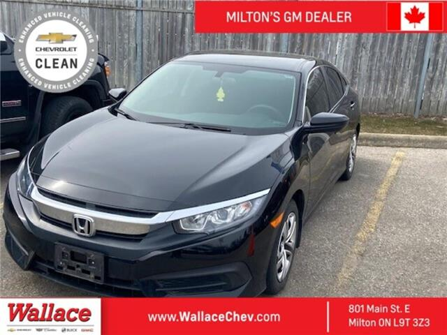 2016 Honda Civic Sedan 4dr CVT LX (Stk: 056523A) in Milton - Image 1 of 1